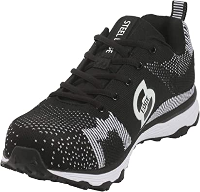 Athletic Men's Safety Toe Shoes