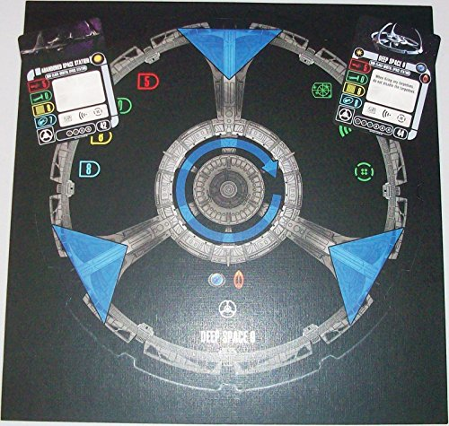 (Star Trek Attack Wing DS9 DEEP SPACE 9 token sheet with cards month 6 OP .HN#GG_634T6344 G134548TY59724)