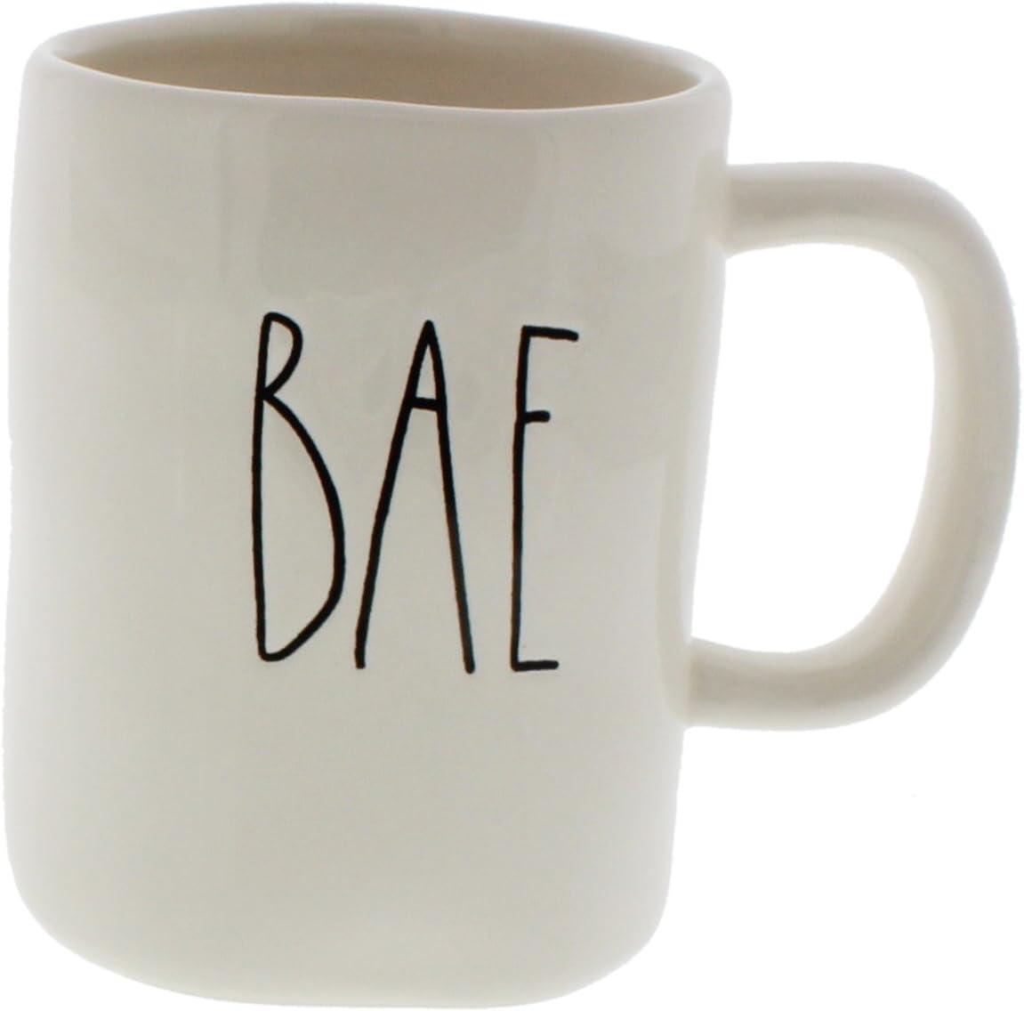 Amazon Com Rae Dunn By Magenta Bae Ceramic Coffee Mug Kitchen Dining