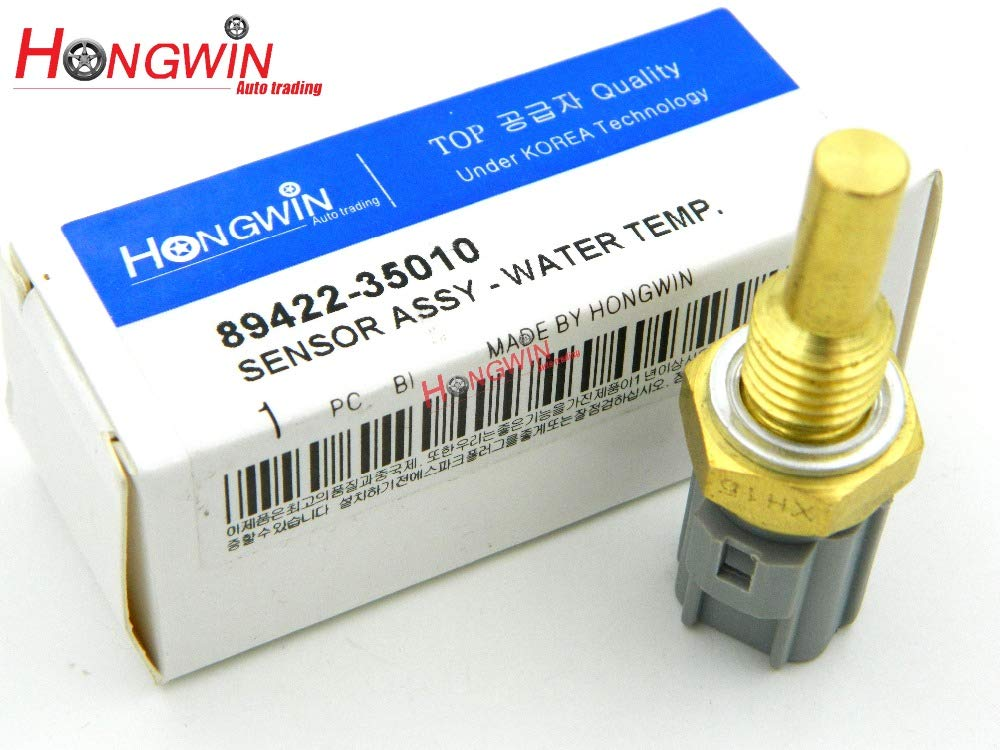 HW 89422-35010 Coolant Water Temperature Sensor Fits Toyota Camry Celica Corolla Chevy RAV4 Lexus ES300 LX450 RX300 RX350 RX400h Hongwin