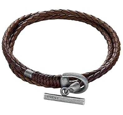 6115893cd Gucci YBA338798002019 Horsebit Men's Bracelet: Amazon.co.uk: Jewellery