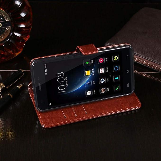 Amazon.com: Doogee X5 Case, PU Leather Stand Wallet Flip ...