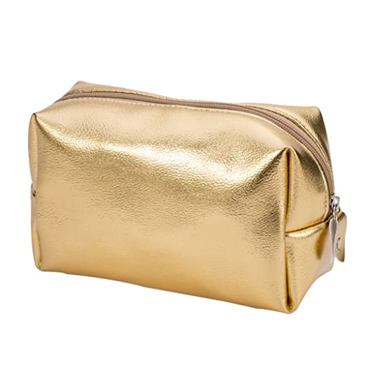 Move on Women Golden Zipper Small Coin Purse