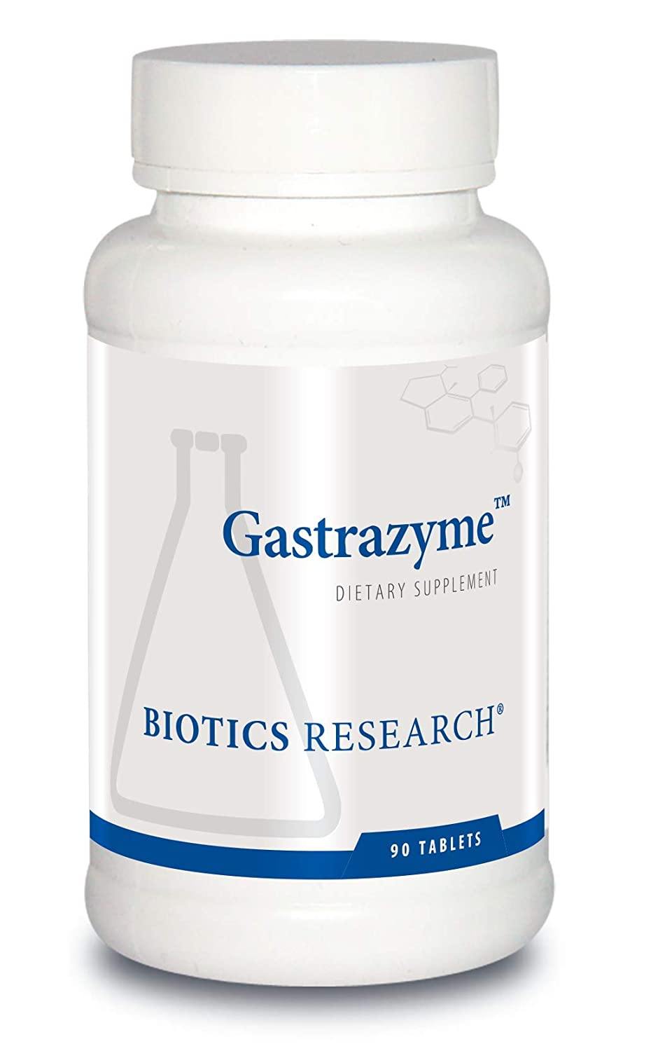 Gastrazyme from Biotics Research, Supplies Vitamin U Complex, Chlorophyllins, Gamma Oryzanol and More.