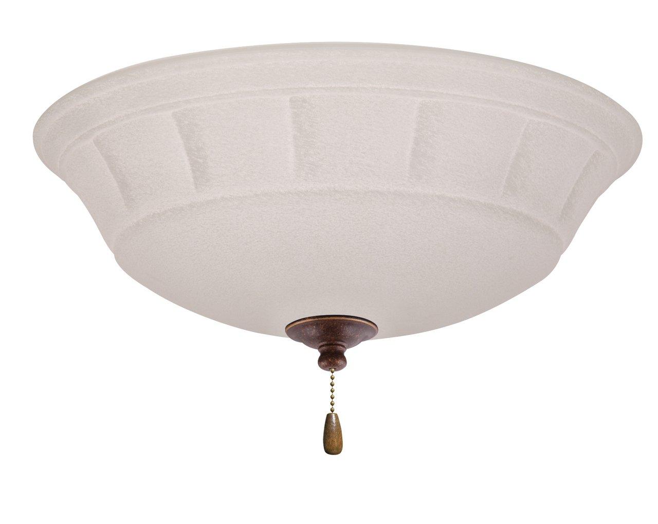 Emerson Ceiling Fans LK141GBZ Grande White Mist Ceiling Fan Light Fixture