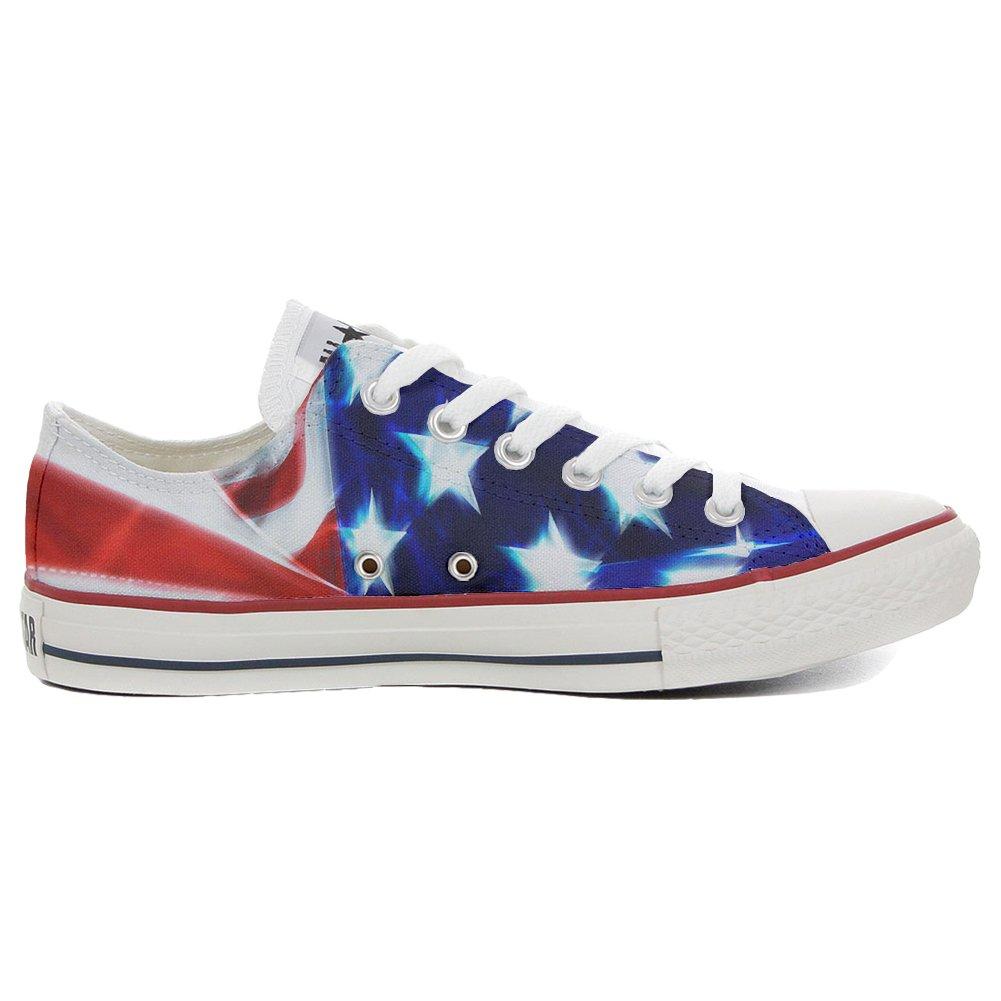 Converse All Star personalisierte Schuhe (Handwerk Produkt) Slim US-Flagge