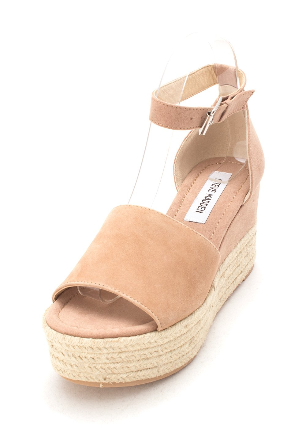 c773b87e3eb ... Steve Madden Womens Apolo Leather Open Toe Casual Espadrille US