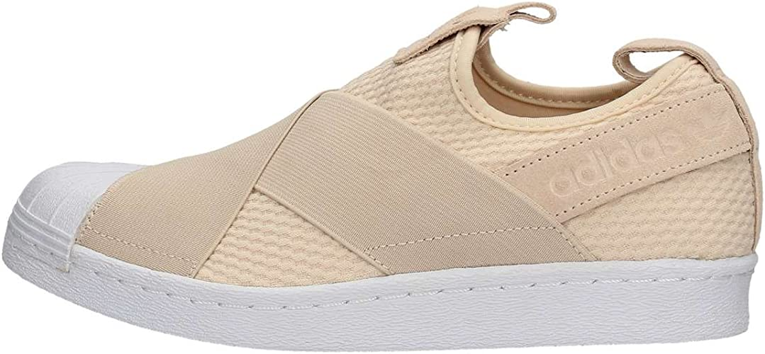adidas Originals Superstar Slipon W Shoes Linen 2018: adidas