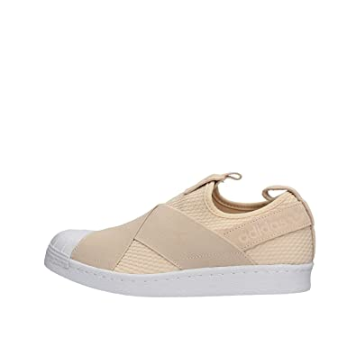 Amazon.com | adidas Originals Women's Superstar Slipon Trainers ...