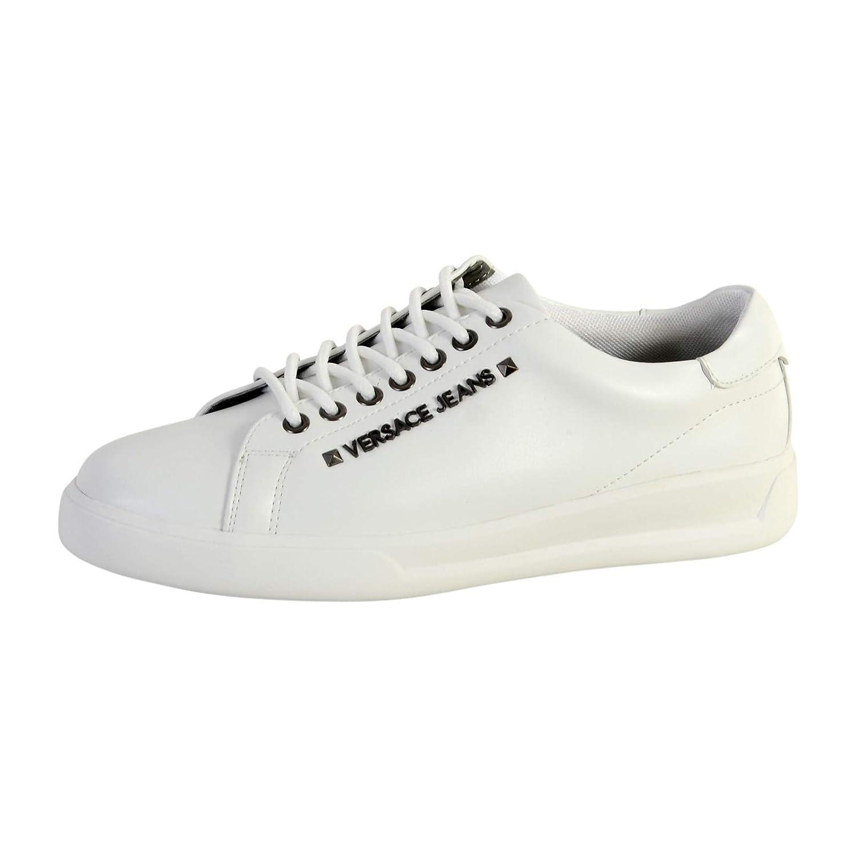 Versace Jeans Mens Cachi Weiss Sneaker Low: Amazon.de: Schuhe ...
