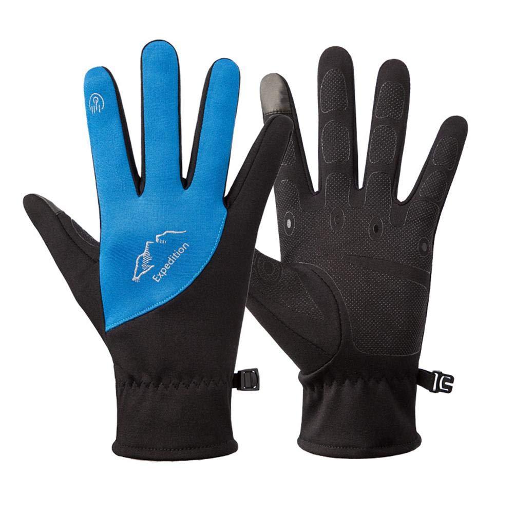 Gants de cyclisme et de musculation Gants /à /écran tactile All Fingers Point pour doigts chauds Velvet Warm gants de course /à pied Gl Gants de course /à pied pour homme et femme
