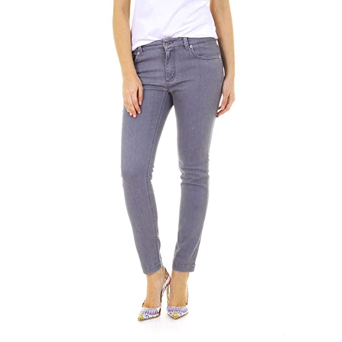 Dolce E Gabbana Mujer Ft43xdg874fn0496 Gris Algodon Jeans  Amazon ... ad5d68e31809