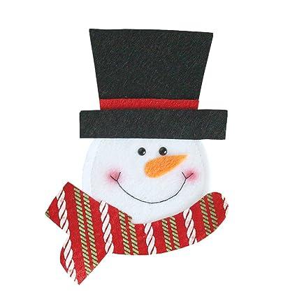 OUNONA Navidades vajilla organizador cuchillería bolsos ...