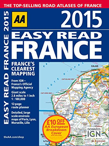 2015 Easy Read France: France's Clearest Mapping pdf epub