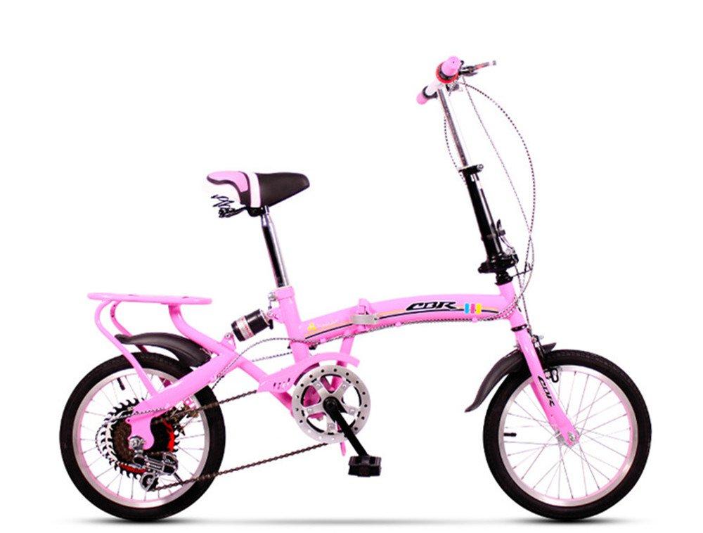 折りたたみ自転車 折り畳み 16インチ 20インチ 変速自転車 単速  変速 通勤 通学 小型 小径 簡単収納 B07BTS81FQ 16インチ変速|D D 16インチ変速