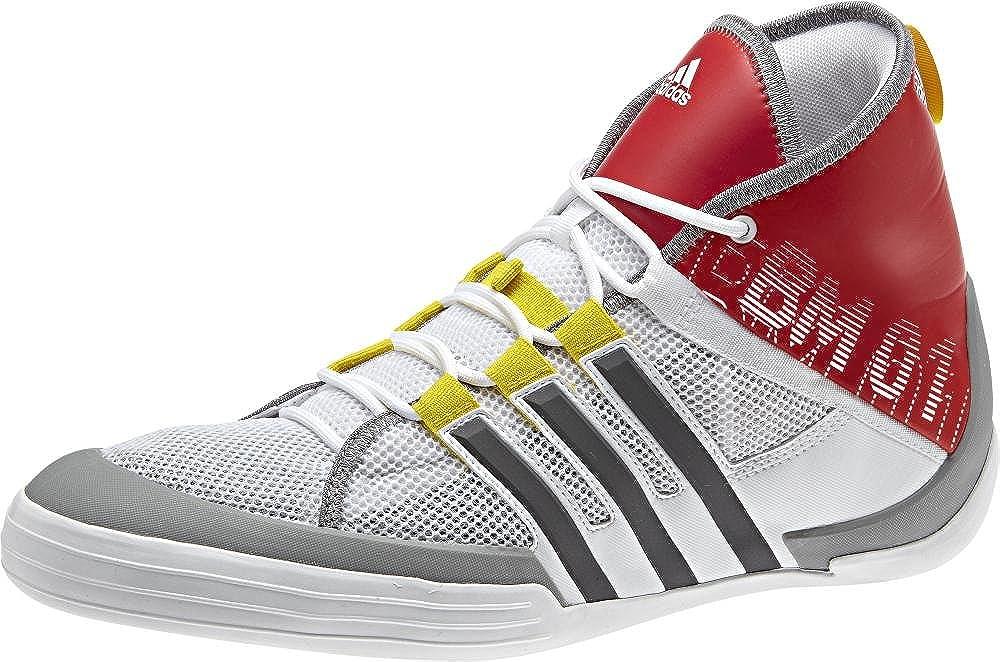 Adidas bm01 Deckschuh Bow Man Mid-Cut 3D 3D 3D Design (weiß rot) Gr. 46 3b7427