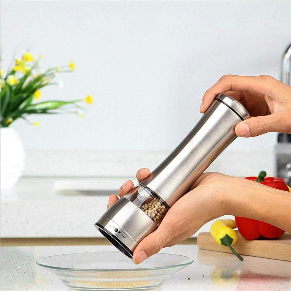 macina sale e pepe Crylee utensile da cucina portatile macinapepe manuale in acciaio inox