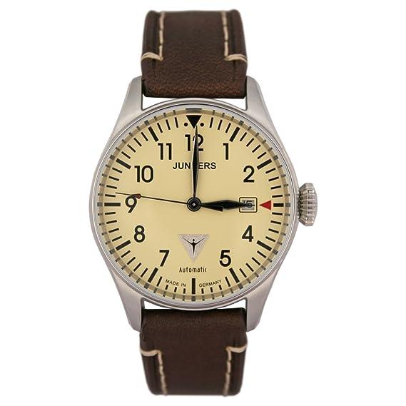 Junkers automático para hombre reloj de pulsera Tante Ju Edition cabina 6150 - 5: Amazon.es: Relojes