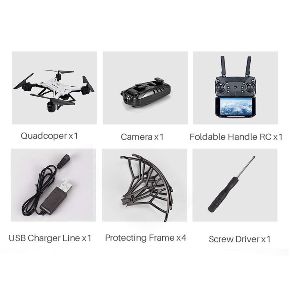 JullyeleDEgant KY601S RC Drohne Mit 30 Watt Kamera Schwerkraftgefühl FPV Quadcopter 20 Minuten Spielzeit DREI Batterie Version Drone Spielzeug