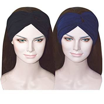 Amazon.com   Sweat Wicking Stretchy Fashion Headbands Headwraps Headband  Best Looking Head Scarf for Sports Exercise   Beauty 836fc3c79d6