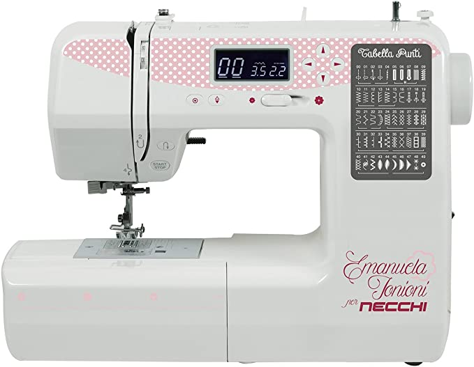 Necchi Zakka 510 – Máquina de coser electrónica: Amazon.es: Hogar