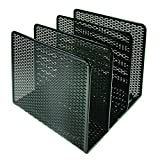 Artistic Urban Collection Punched Metal File Sorter, Black (ART20009)