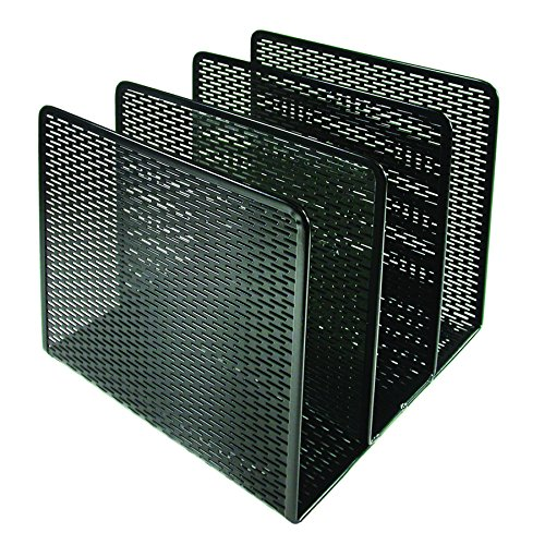 (Artistic Urban Collection Punched Metal File Sorter, Black (ART20009))