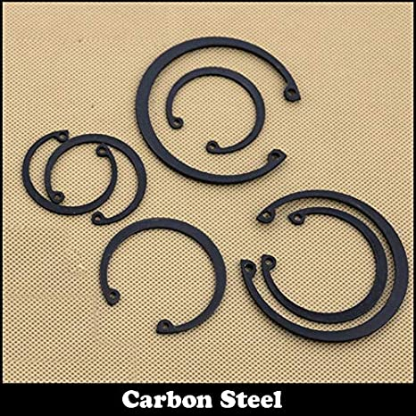 Inner Diameter: M36, Number of Pcs: 20Pcs Ochoos M35 M36 M37 Carbon Steel Mn65 Spring Washer DIN472 C Type Snap Retaining Ring for 35mm 36mm 37mm Inside Internal Shaft Circlip