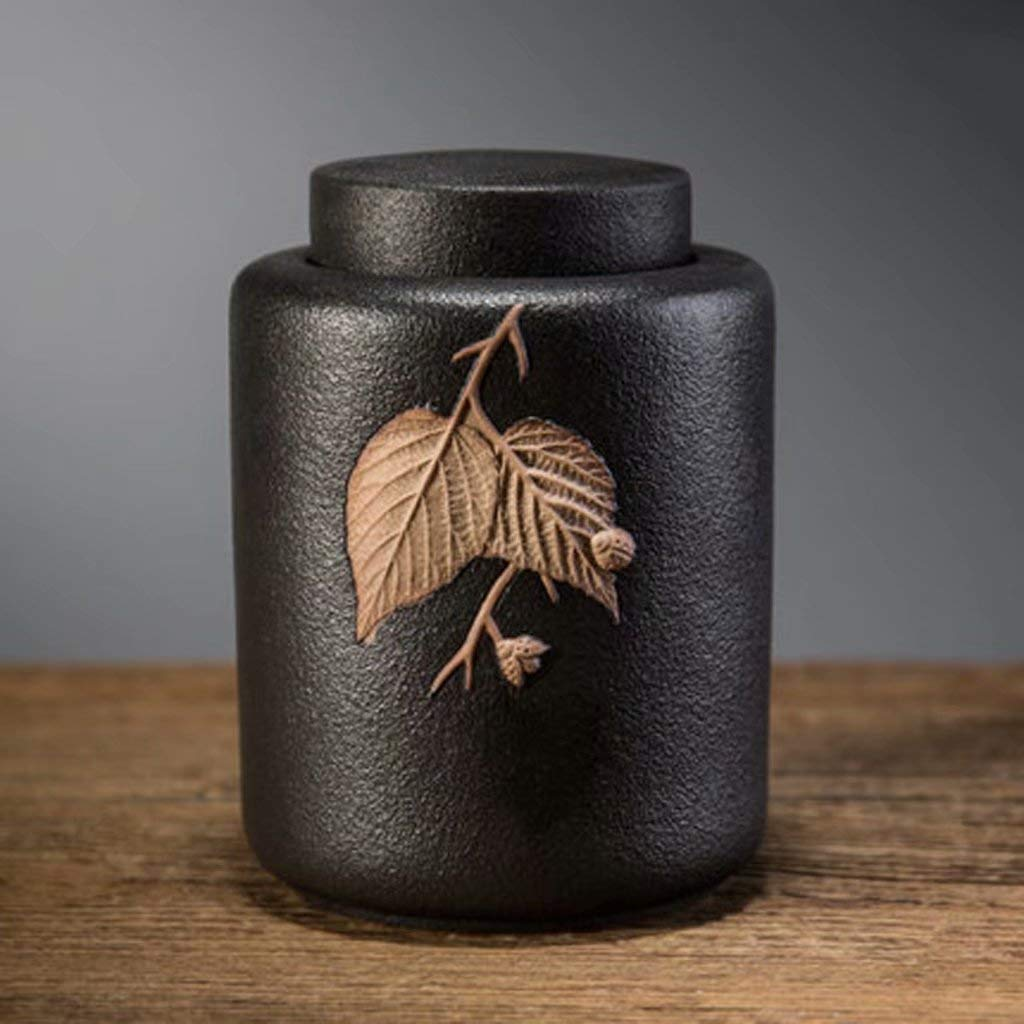 B Funeral Urn by- Small Urns for Ashes Keepsake and Mini Cremation Urns for Ashes Adult Display Burial Urn at Home or Office13.5  9.7  9.7cm