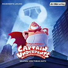 Großangriff der schnappenden Klo-Schüsseln... und noch ein Abenteuer (Captain Underpants 1) Audiobook by Dav Pilkey Narrated by Tobias Nath