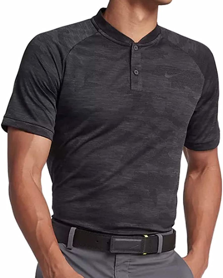 Nike Golf TW Tiger Woods Vapor Zonal Cooling Camo Polo 932390