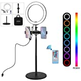 Flexmus 10-inch LED Ring Light with Stand