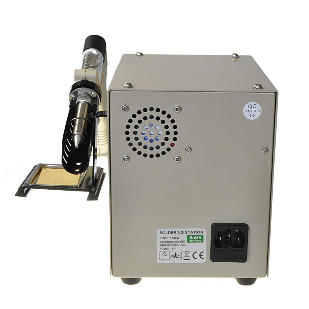 dissaldatore aspira Estaño ZD 915 eléctrico desoldering Gun puntas de desoldar zd915: Amazon.es: Industria, empresas y ciencia