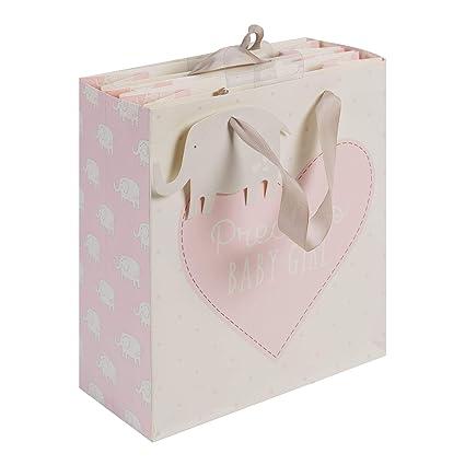 Encantador Bolsa de Regalo Precious Baby Girl - rosa con ...