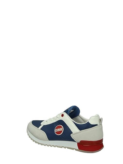premium selection 60f74 ada76 Colmar TRAVIS ORIGINAL Sneakers Uomo Tessuto ROYAL ROYAL 40  MainApps   Amazon.it  Scarpe e borse