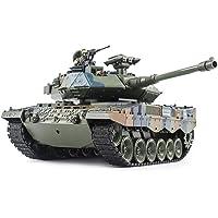 SEXTT Tanque RC, 1:18 Tanque Giratorio de torreta