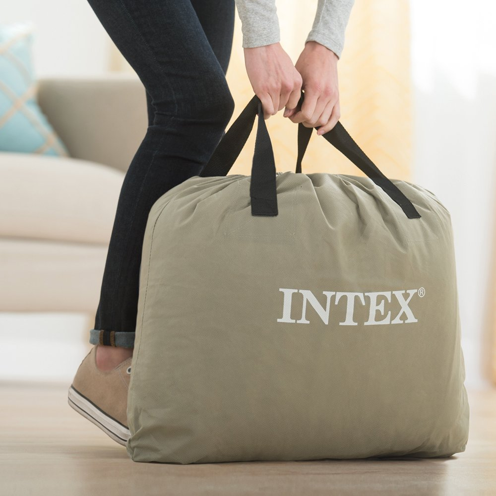 Intex 64124 - Colchón hinchable Dura-Beam Standard Pillow Rest 152 ...