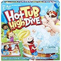 Hot Tub High Dive Game With Bubbles