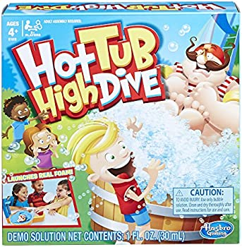 Hasbro Hot Tub High Dive Game with Bubbles