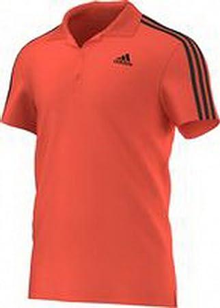 Adidas BandesS17664 T Xl Polo Shirt3 Homme Essentials Red Pour sQBtCxrohd