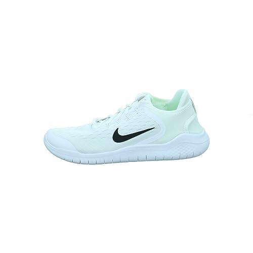 0731fbee343ab NIKE Free Rn 2018 (gs) Big Kids (White Black)  Amazon.co.uk  Shoes   Bags
