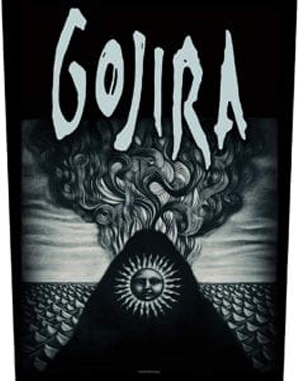 Gojira Magma patche dorsal dossard grande taille