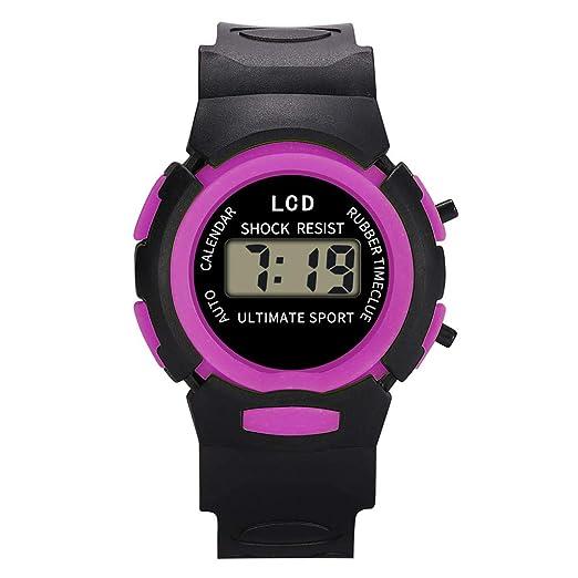 Kanpola Niño Smartwatch Fashion Relojes, Reloj de Pulsera ...