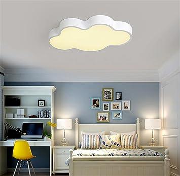 Kinderzimmerlampe Weiß 50CM Dimmen mit Fernbedienung Babylampe ...