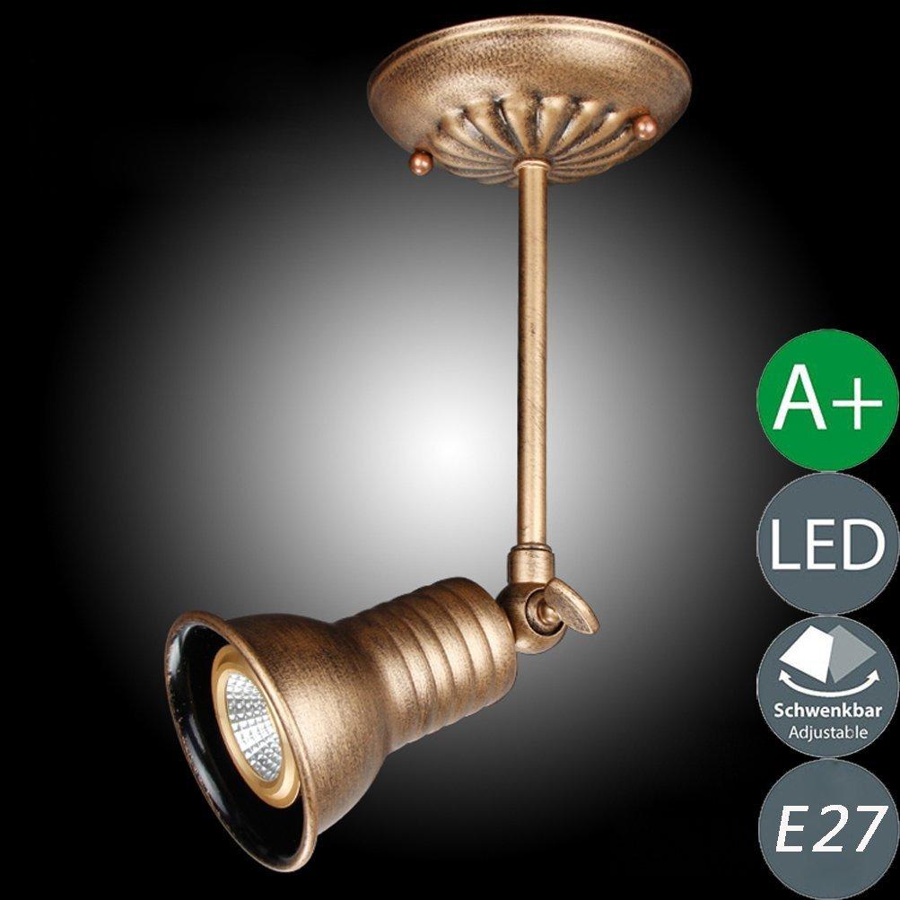 Diseño Vintage Techo Lámpara De Candelabro Industrial v0w8nPNymO