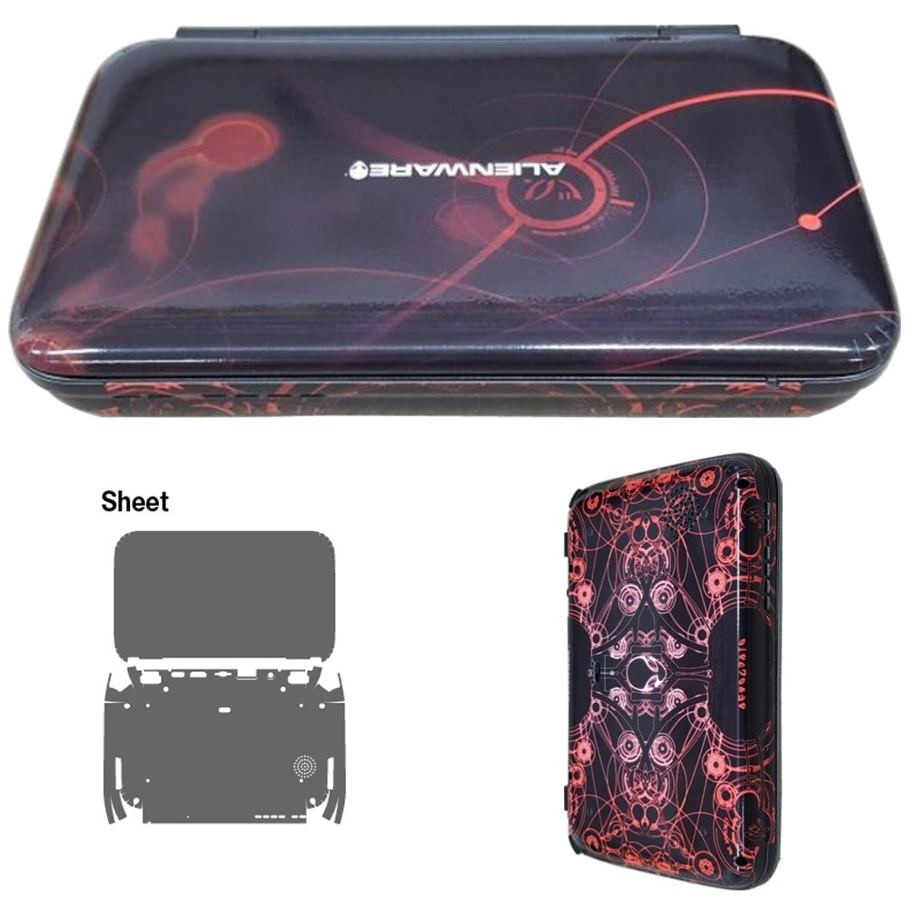 Skin Decal Stickers For GPD Win Console Outside Tuning Mapping POP SKIN Alienware #02
