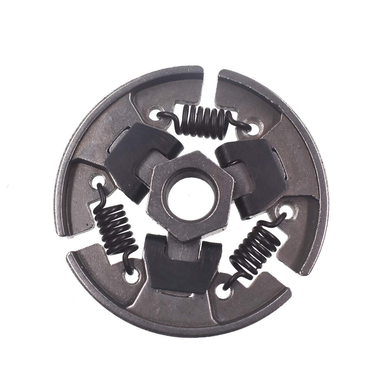 Embrague centrífugo y piñón de cadena 3/8-7, corona de agujas para motosierra Stihl 017 018 021 025 MS170 MS180 MS210: Amazon.es: Coche y moto