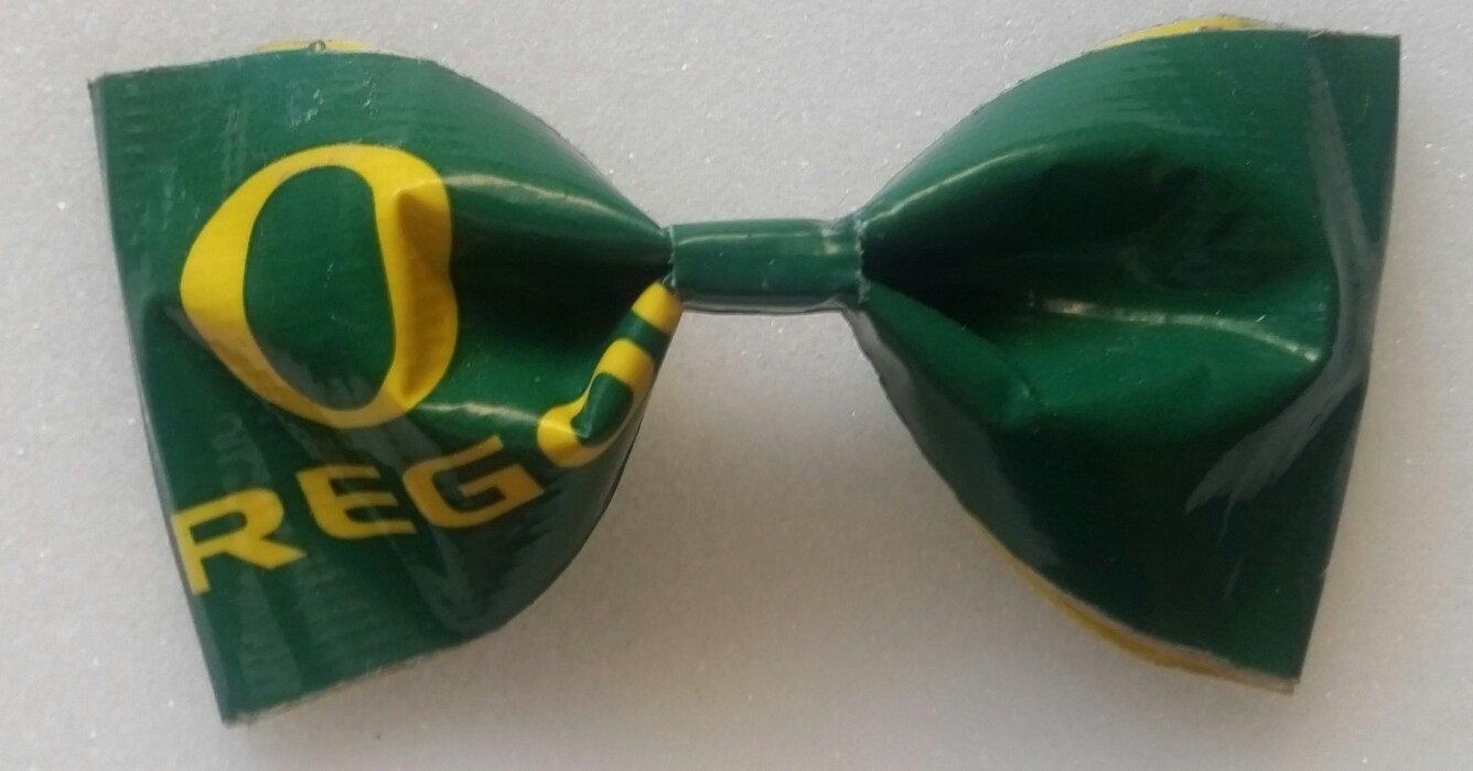 University of Oregon Ducks NCAA Bobby Pin Hair Bow or Bow Tie