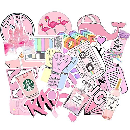 Stickers for Water Bottles Big 53 Pack, Cute, Aesthetic, Funny Stickers for Teens, Girls, Adults. Pe - http://coolthings.us