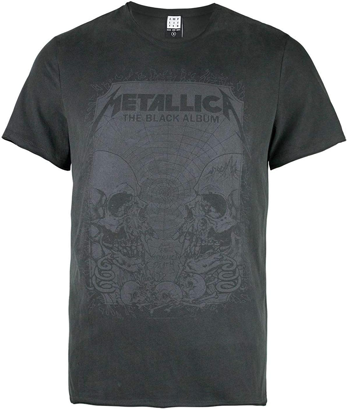 Amplified Metallica-The Black Album Camiseta para Hombre
